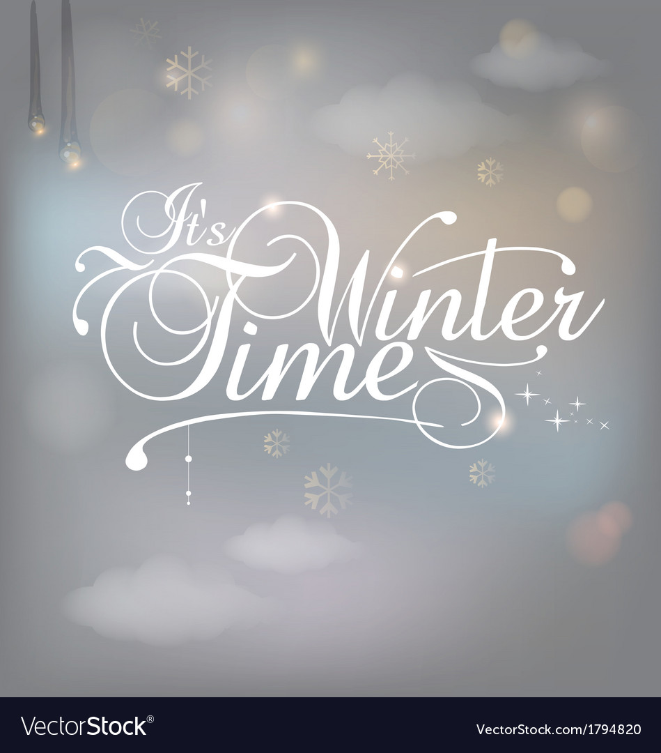 Winter card vector | Price: 1 Credit (USD $1)