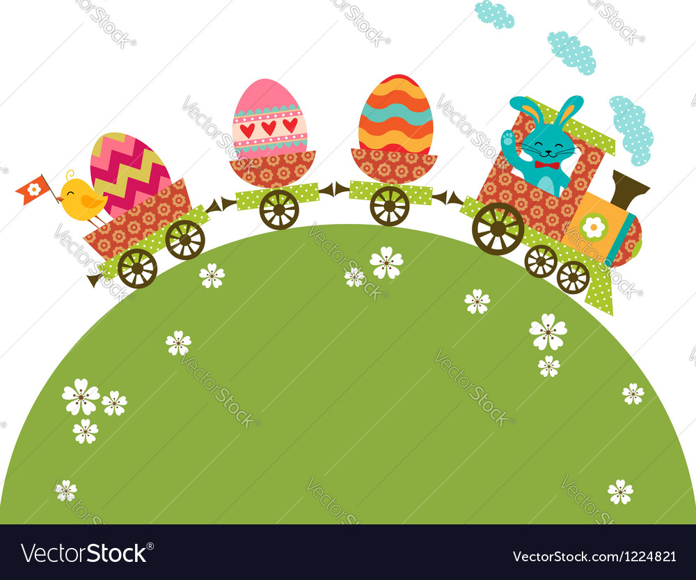 Easter travel vector | Price: 1 Credit (USD $1)