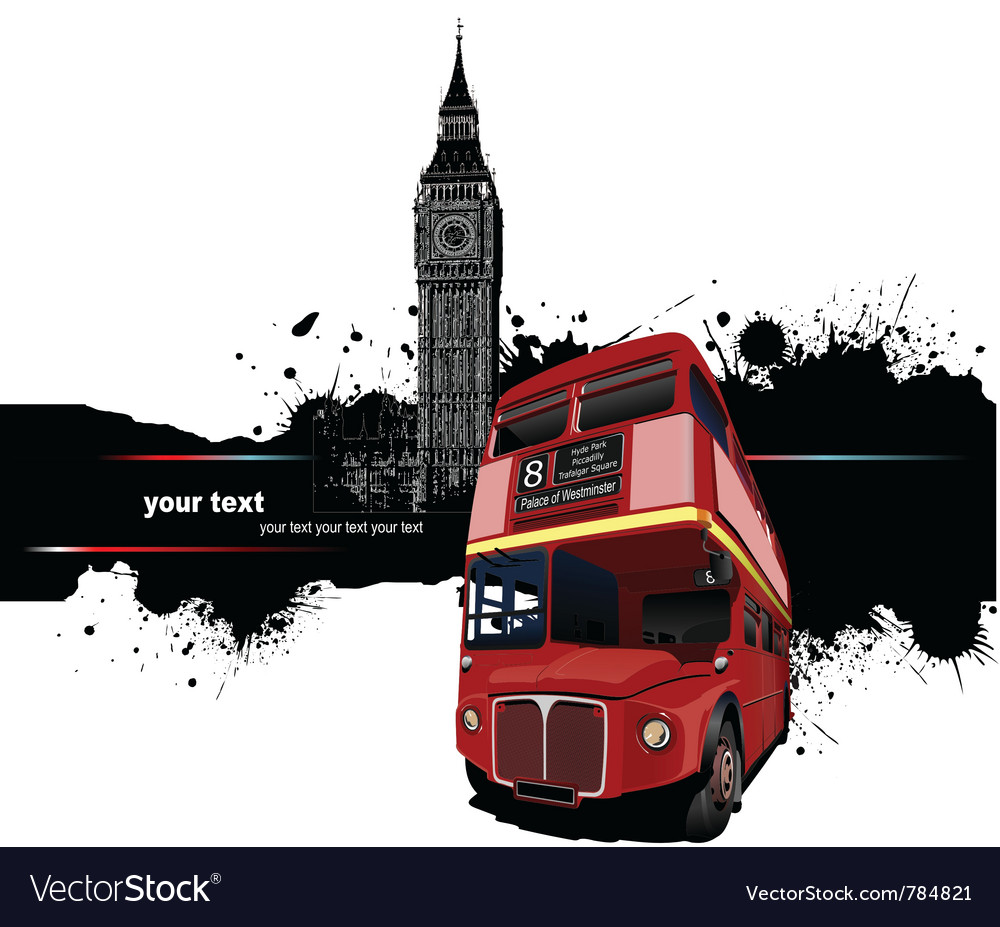 London banner vector | Price: 1 Credit (USD $1)