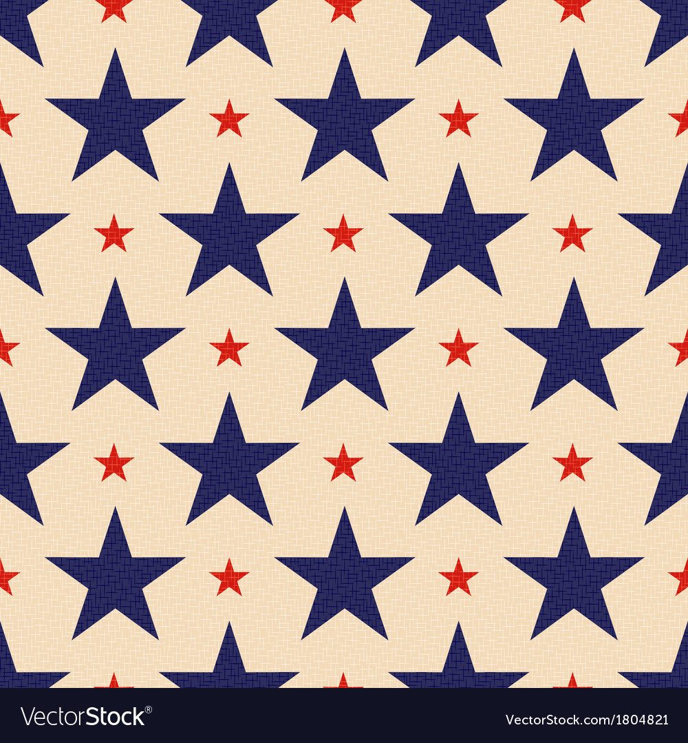 Seamless usa stars background vector | Price: 1 Credit (USD $1)