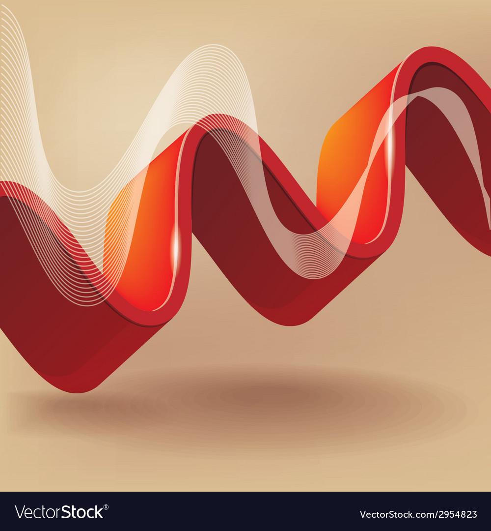 Abstract background with wave vector | Price: 1 Credit (USD $1)