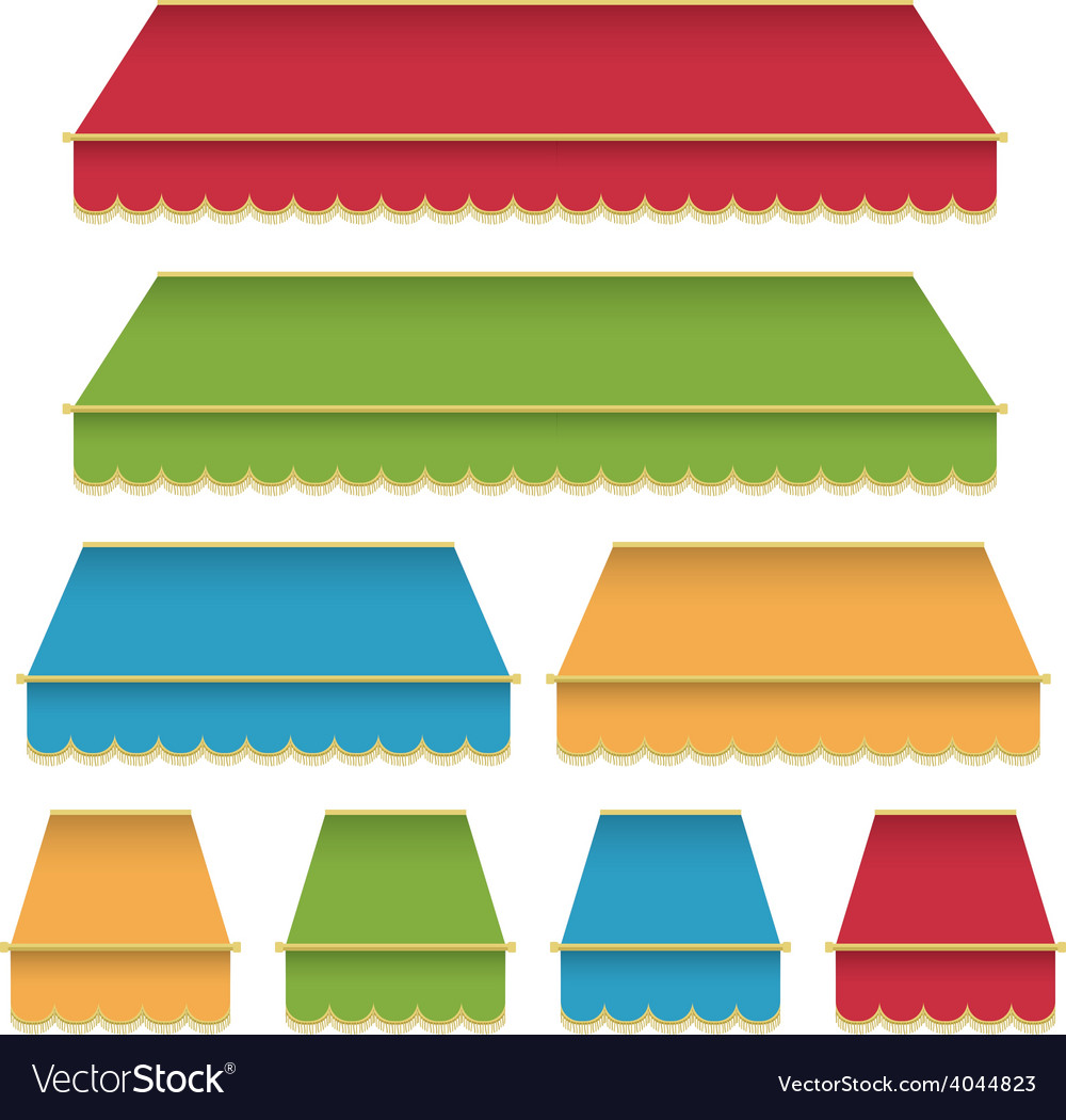 Canopy decorations vector | Price: 1 Credit (USD $1)
