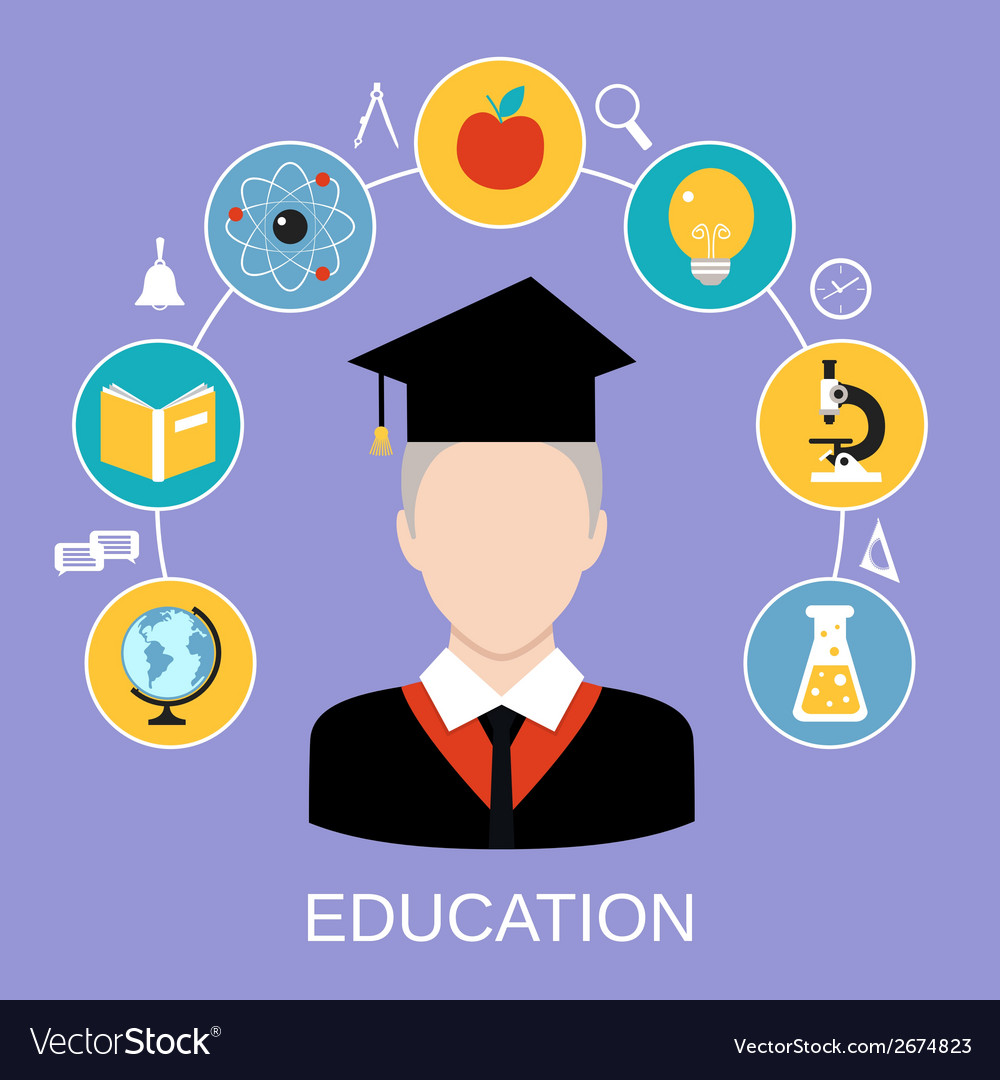 Education concept vector | Price: 1 Credit (USD $1)