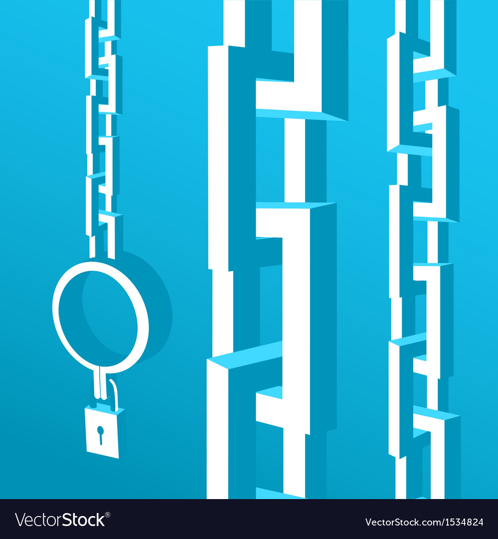 Chain for the prisoner vector | Price: 1 Credit (USD $1)