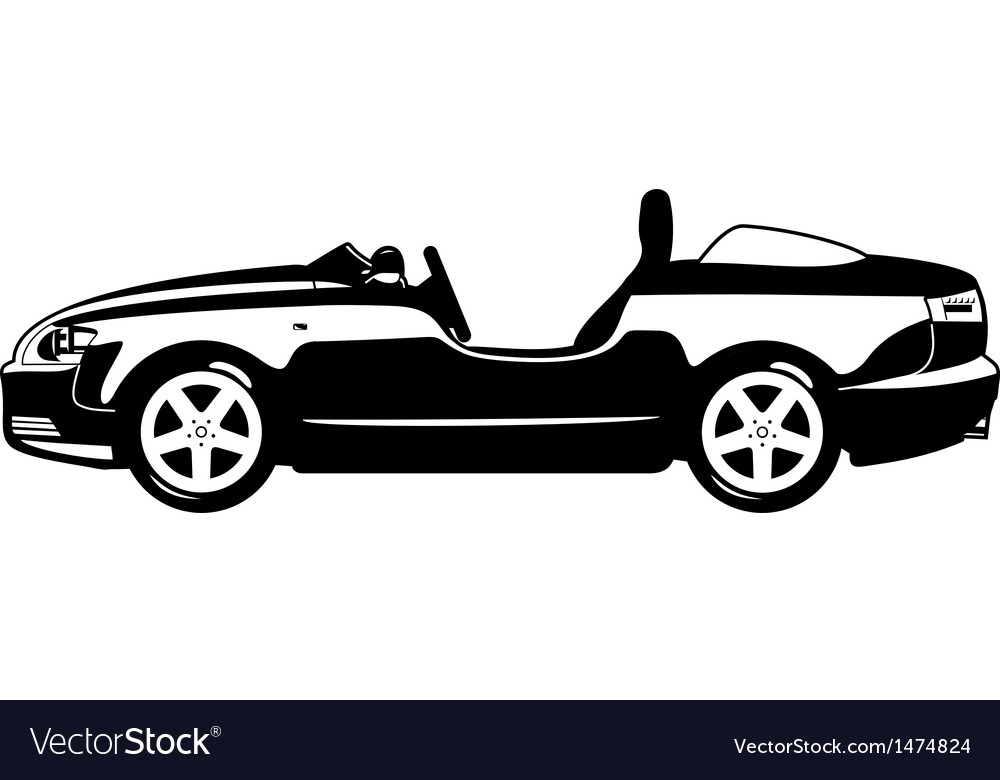 Roadster vector | Price: 1 Credit (USD $1)
