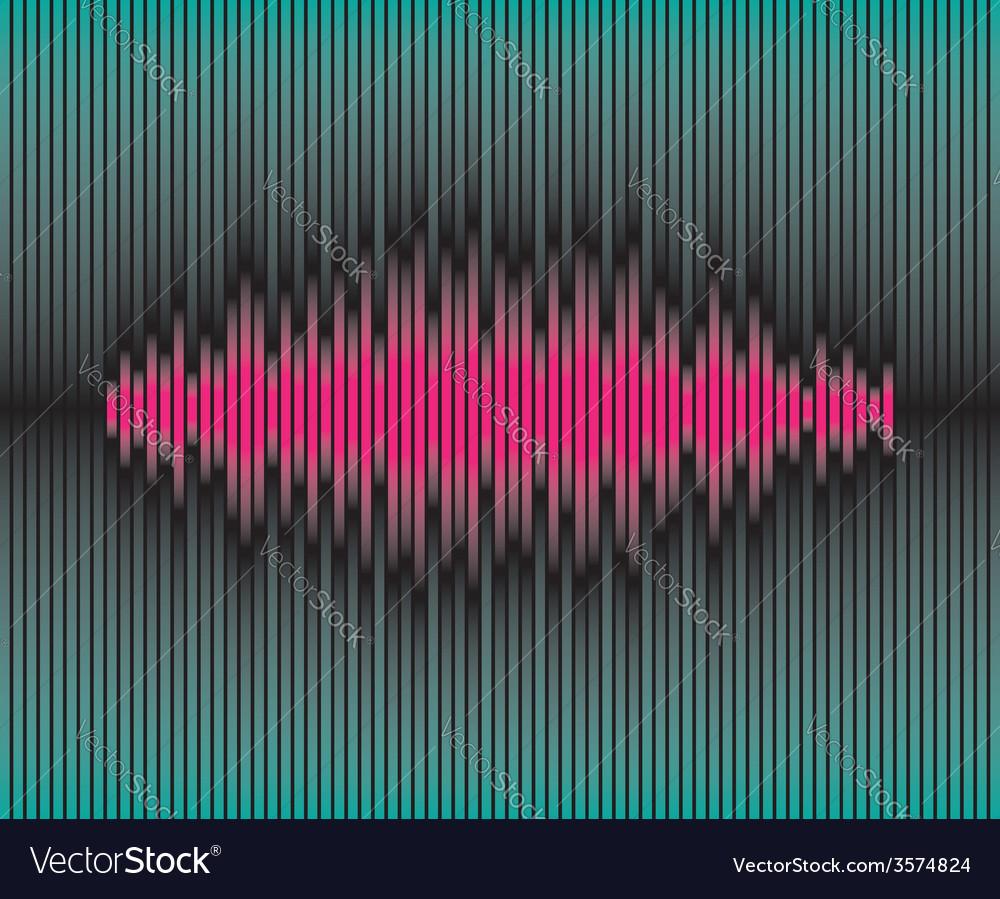 Sliced waveform background vector | Price: 1 Credit (USD $1)