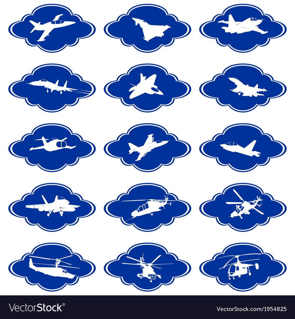 Military aircraft-2 vector | Price: 1 Credit (USD $1)
