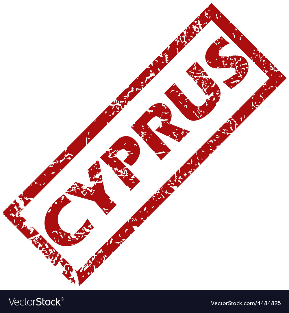 New cyprus rubber stamp vector | Price: 1 Credit (USD $1)