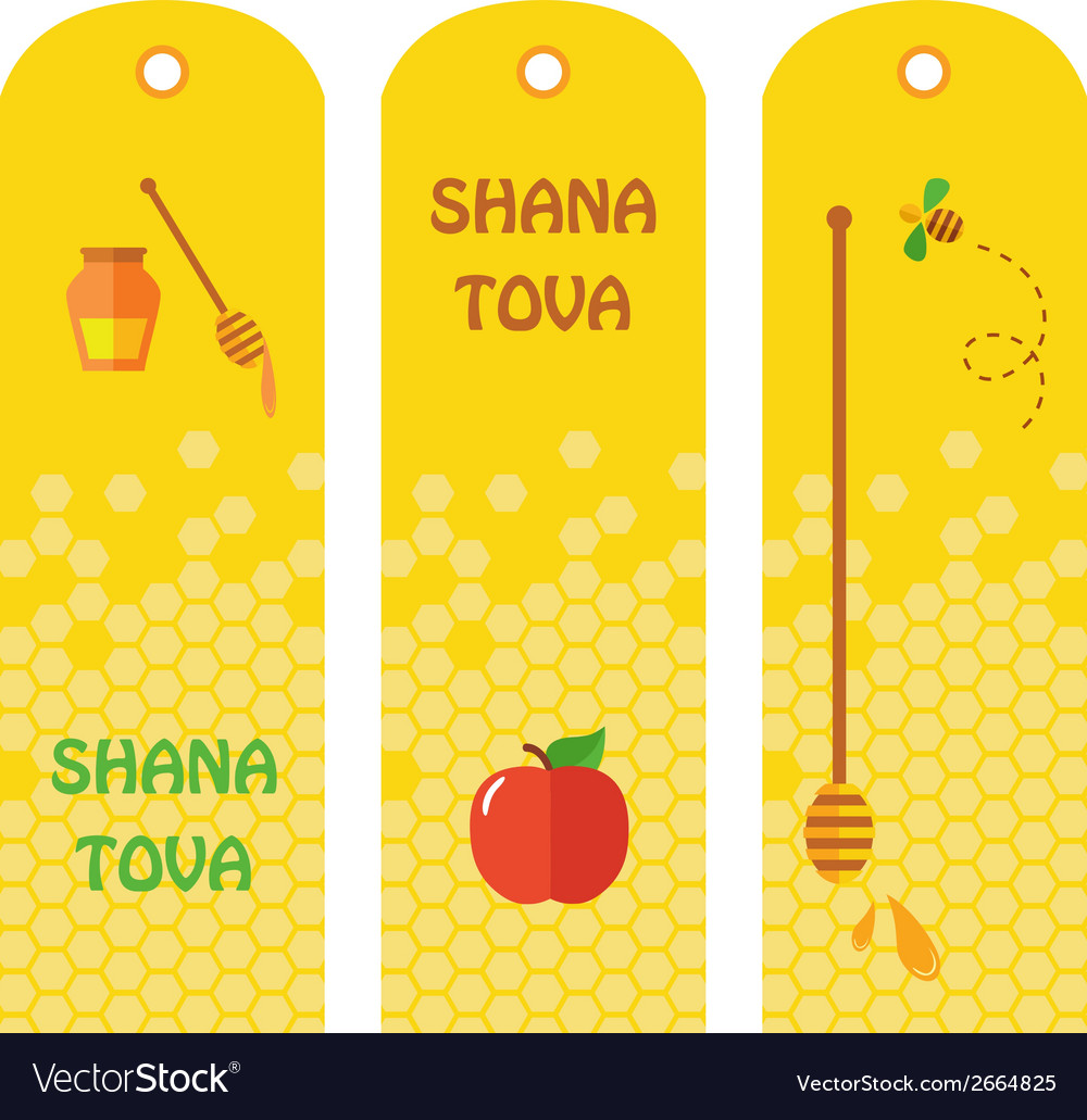 Set of honey labels badges and design elements for vector | Price: 1 Credit (USD $1)