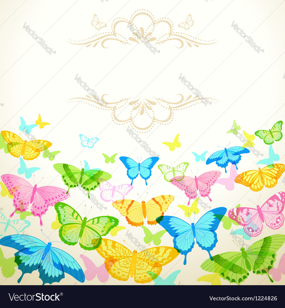 Butterfly design vector | Price: 1 Credit (USD $1)