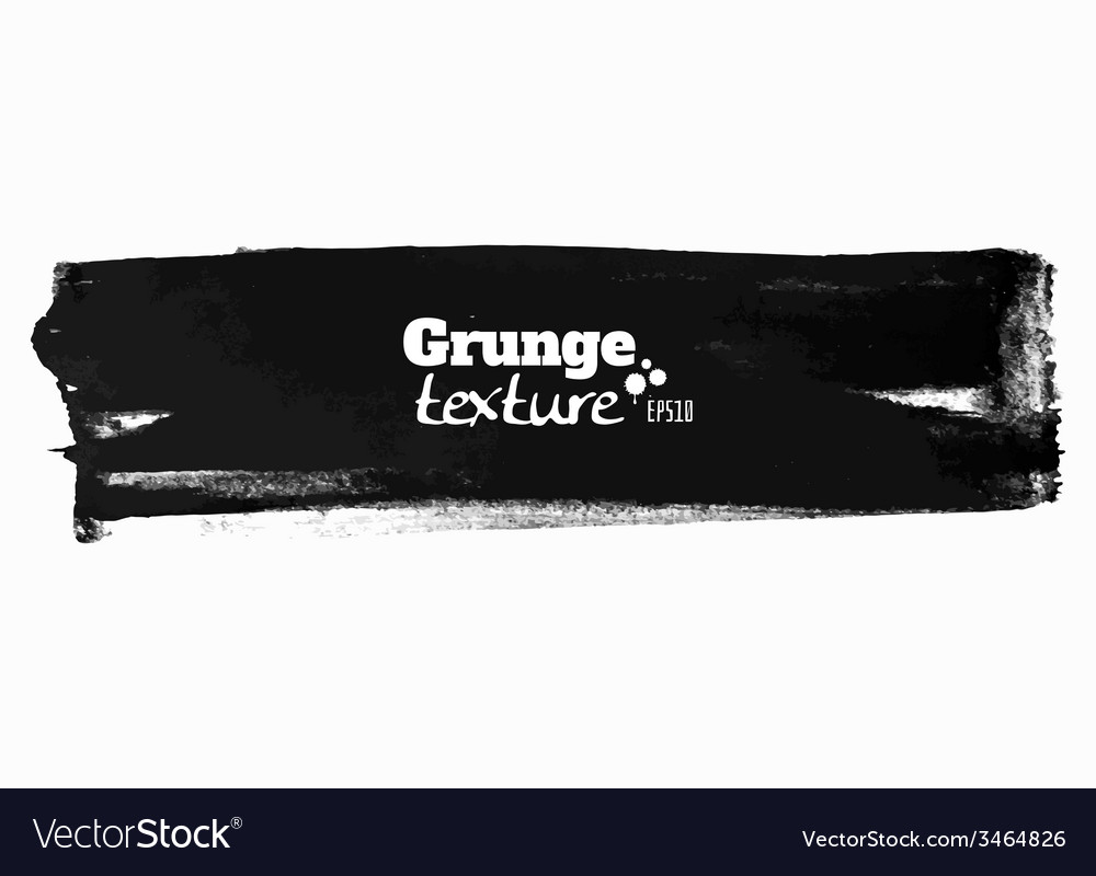 Grunge brush stroke background stripe vector | Price: 1 Credit (USD $1)