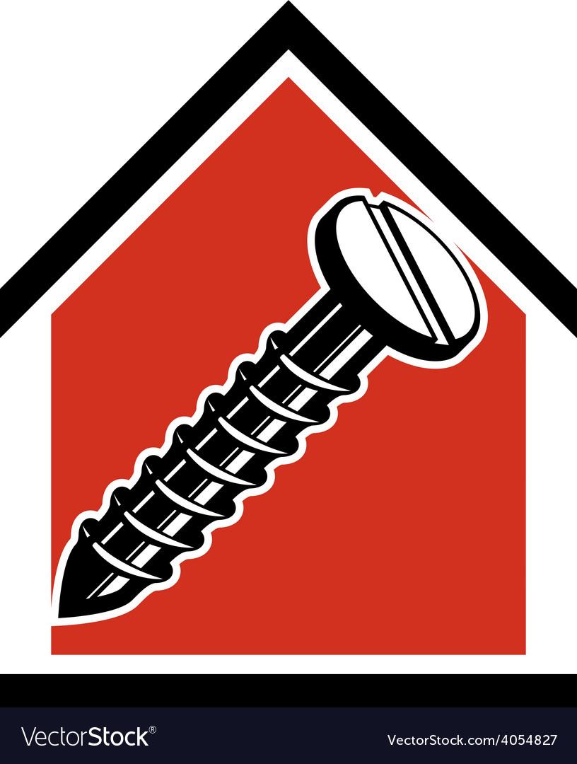 Classic screw icon vector   Price: 1 Credit (USD $1)