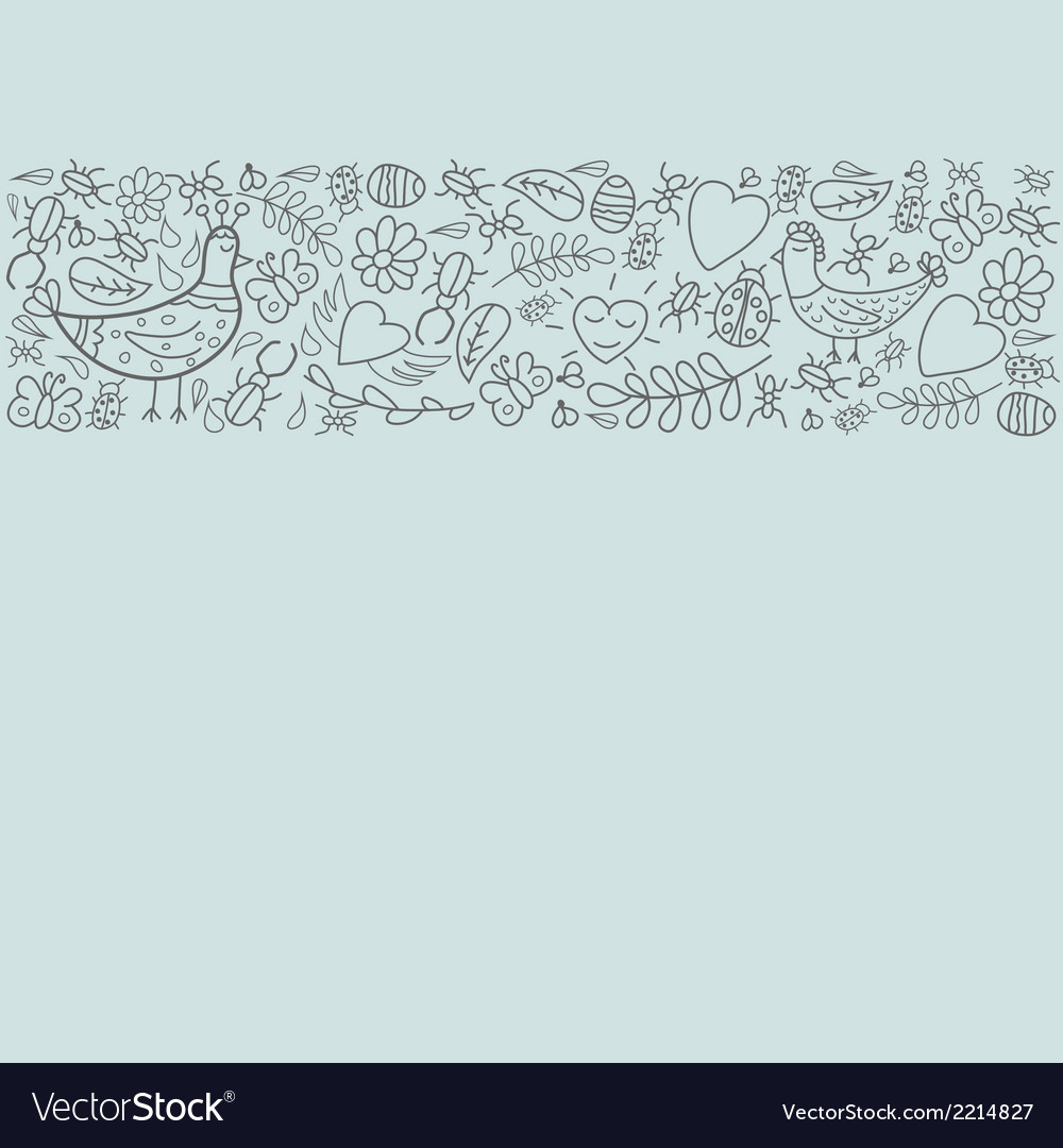 Decorative details on light background vector | Price: 1 Credit (USD $1)