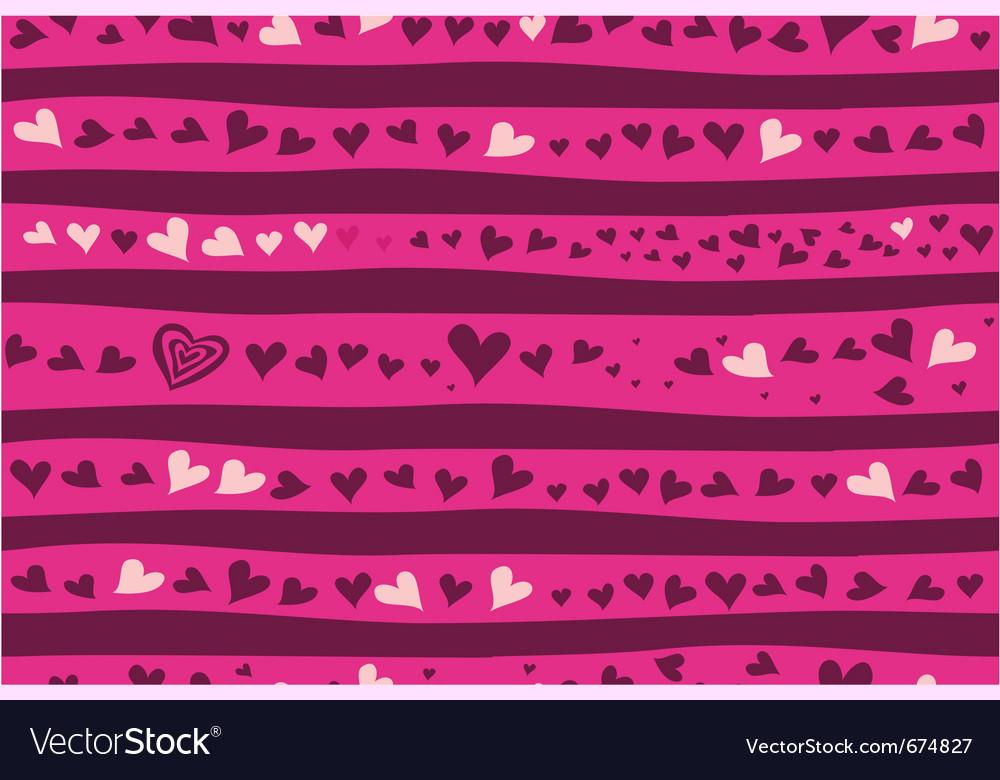 Valentines wallpaper vector | Price: 1 Credit (USD $1)