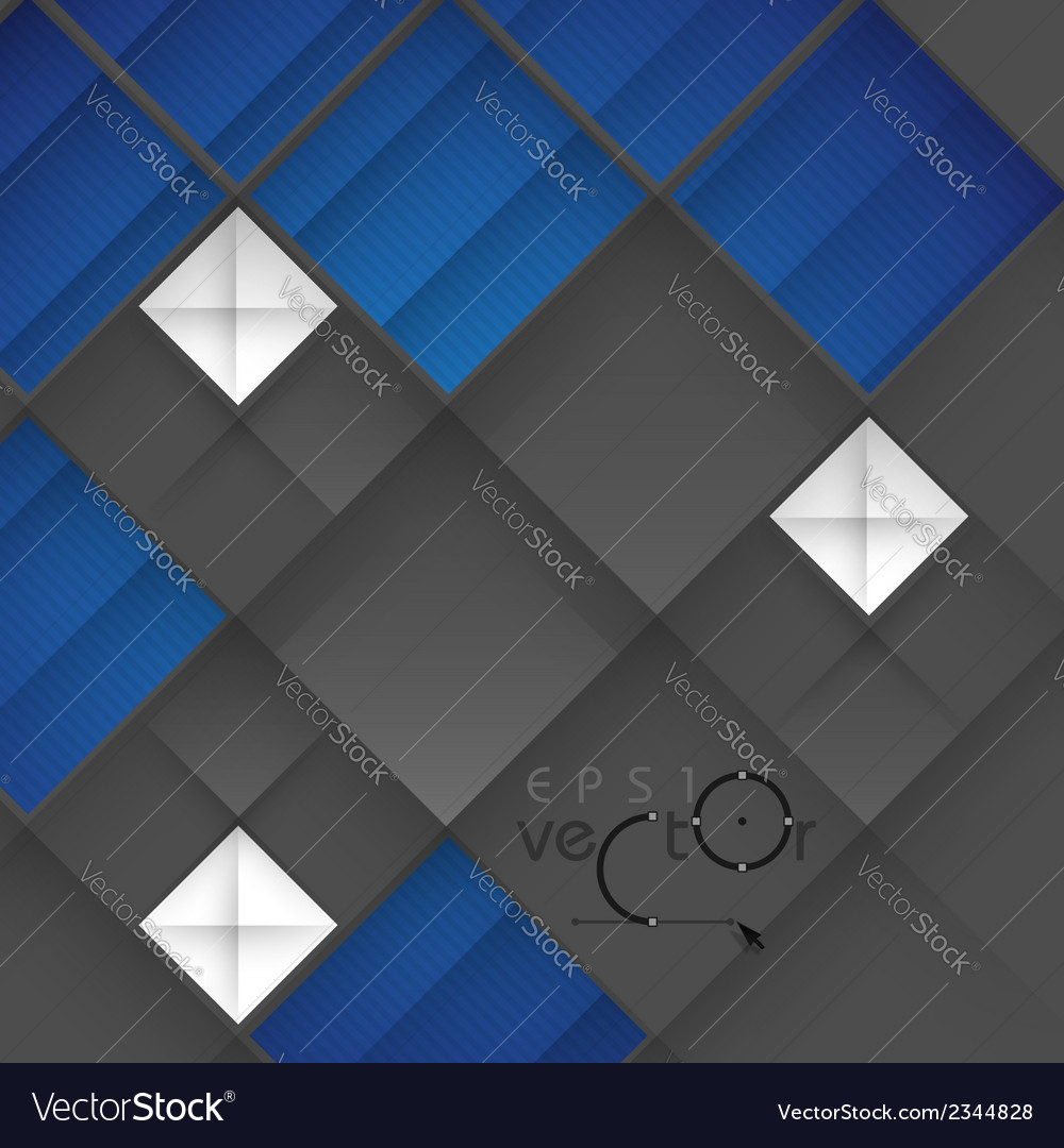 Abstract 3d geometrical design vector | Price: 1 Credit (USD $1)