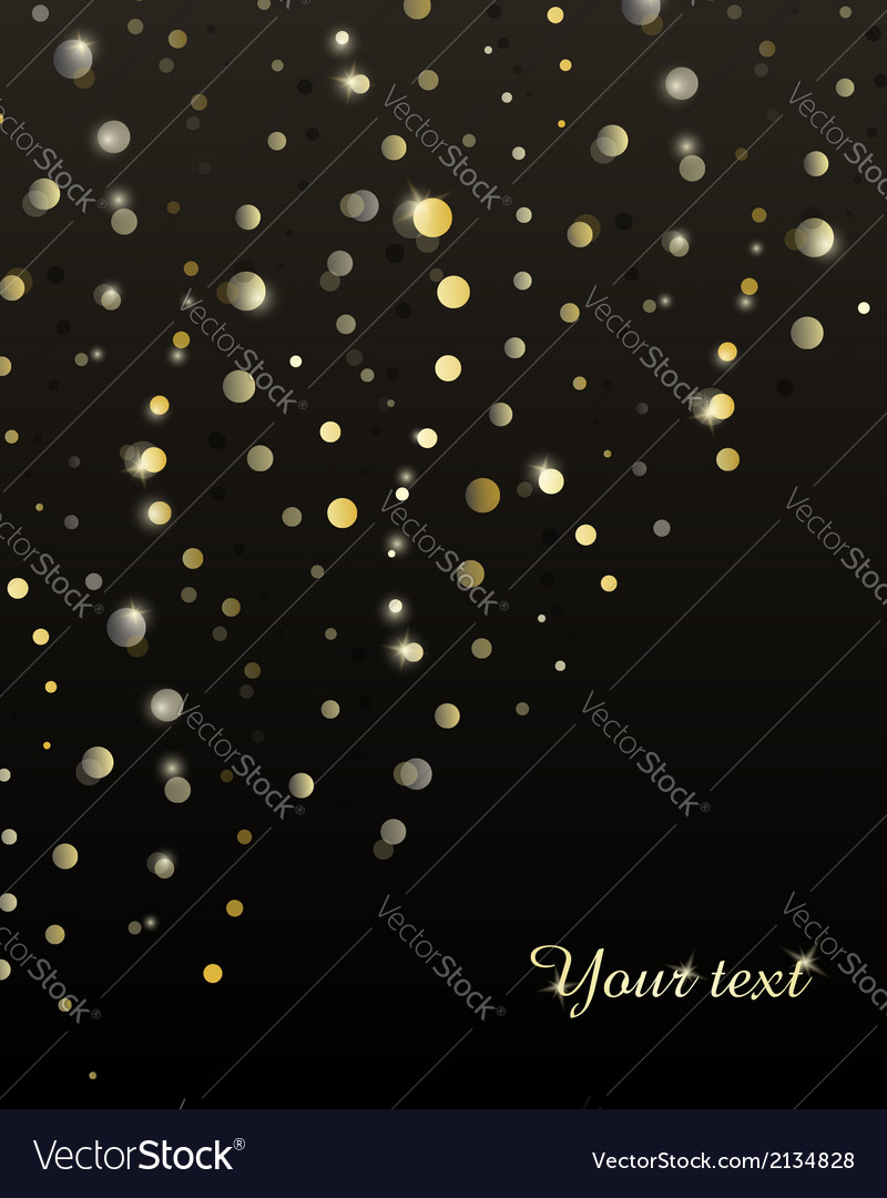 Abstract background with golden stripes of circles vector | Price: 1 Credit (USD $1)