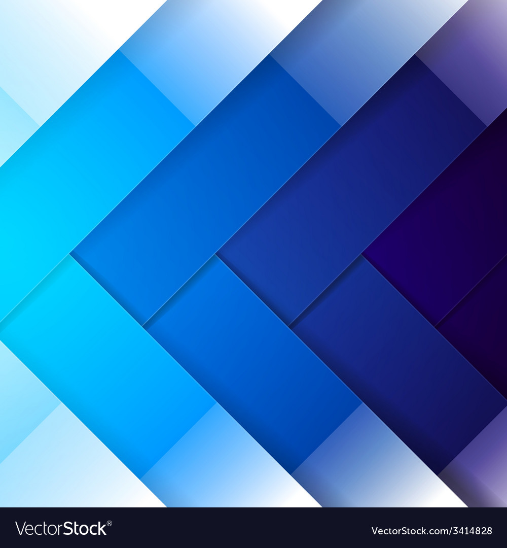 Abstract blue shining rectangle shapes background vector | Price: 1 Credit (USD $1)