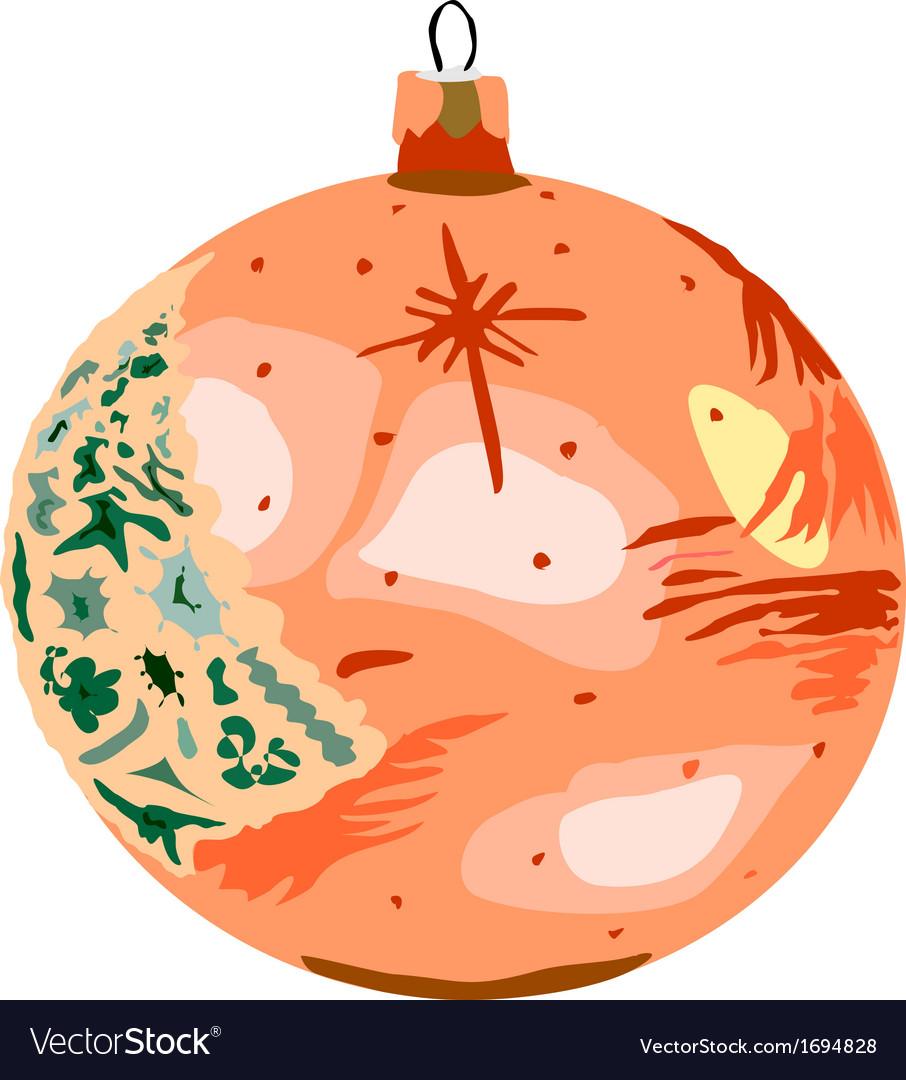 Bauble orange vector   Price: 1 Credit (USD $1)