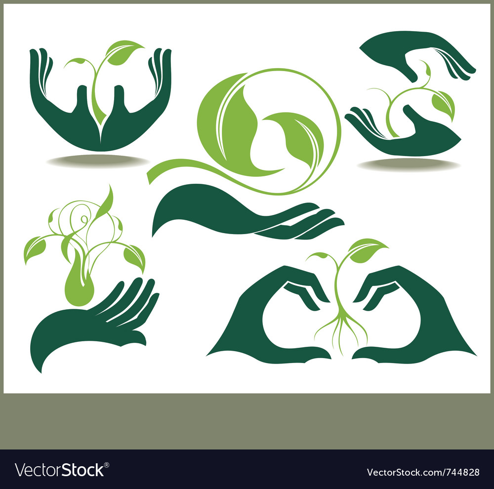 Ecology set vector | Price: 3 Credit (USD $3)