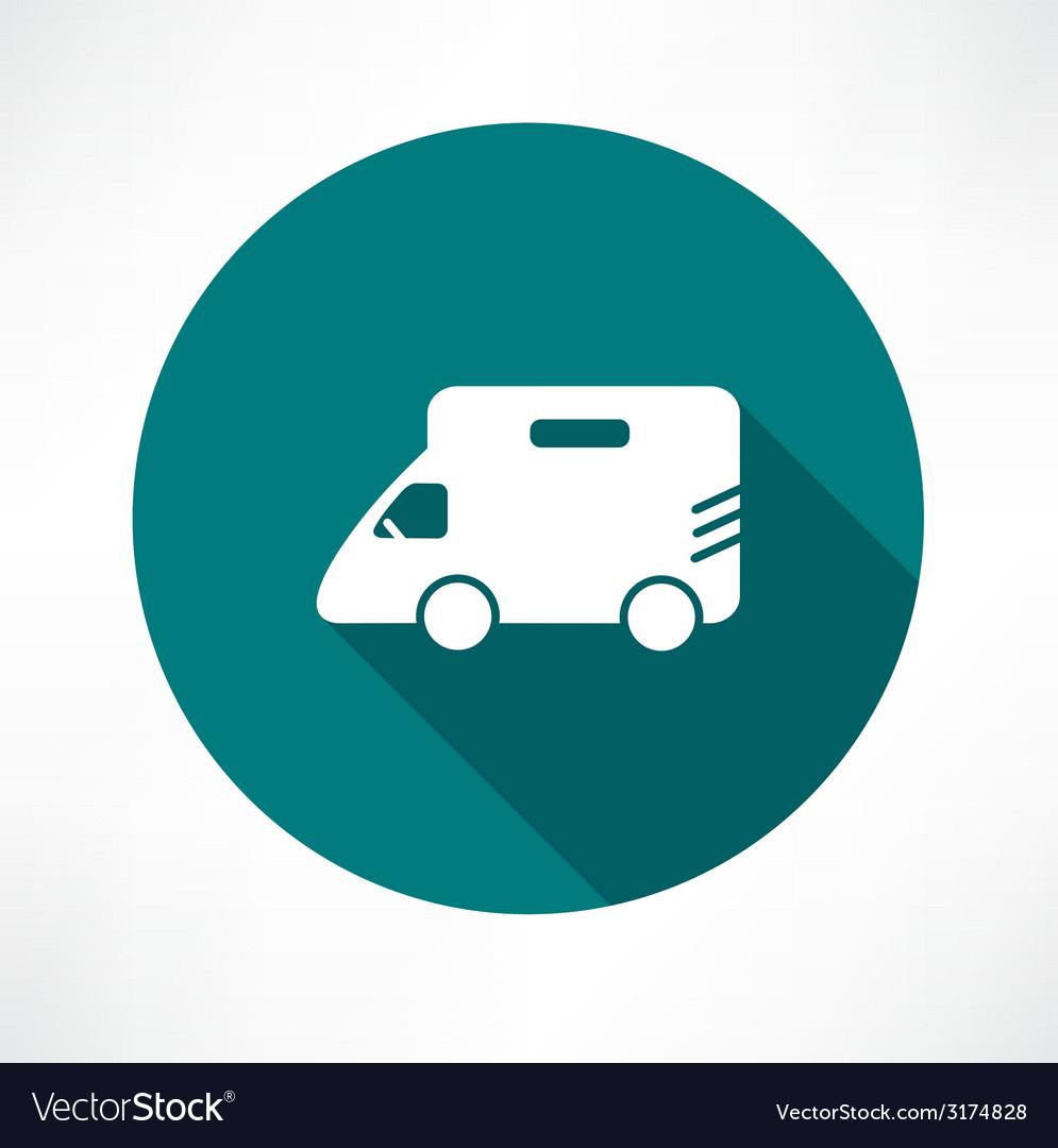 Minibus icon vector | Price: 1 Credit (USD $1)