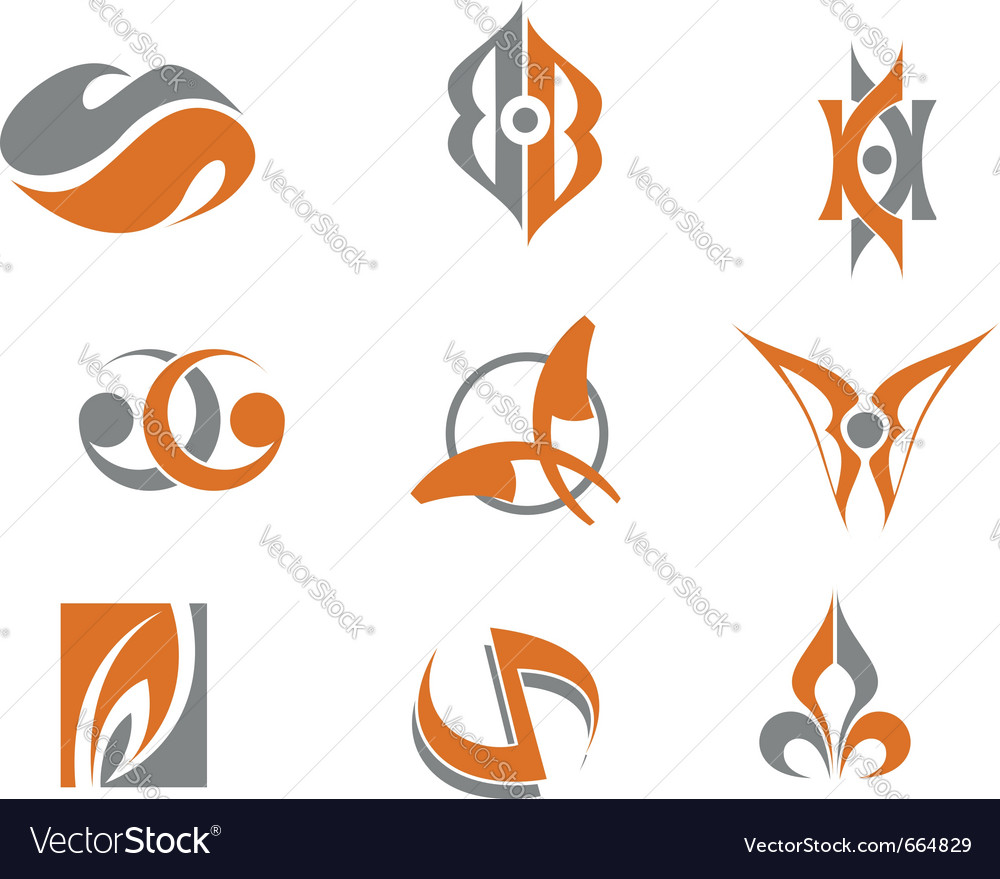 Abstract symbols vector | Price: 1 Credit (USD $1)