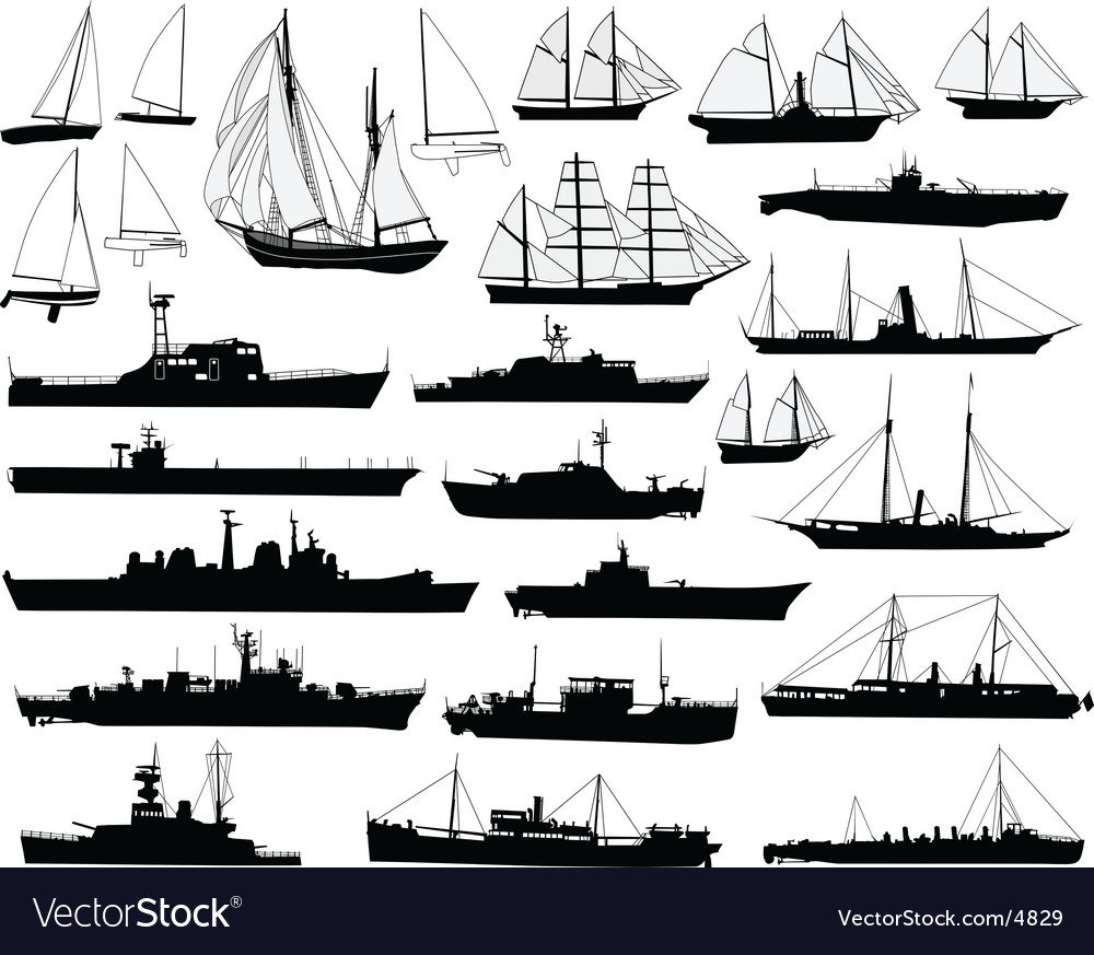 Boats vector | Price: 3 Credit (USD $3)