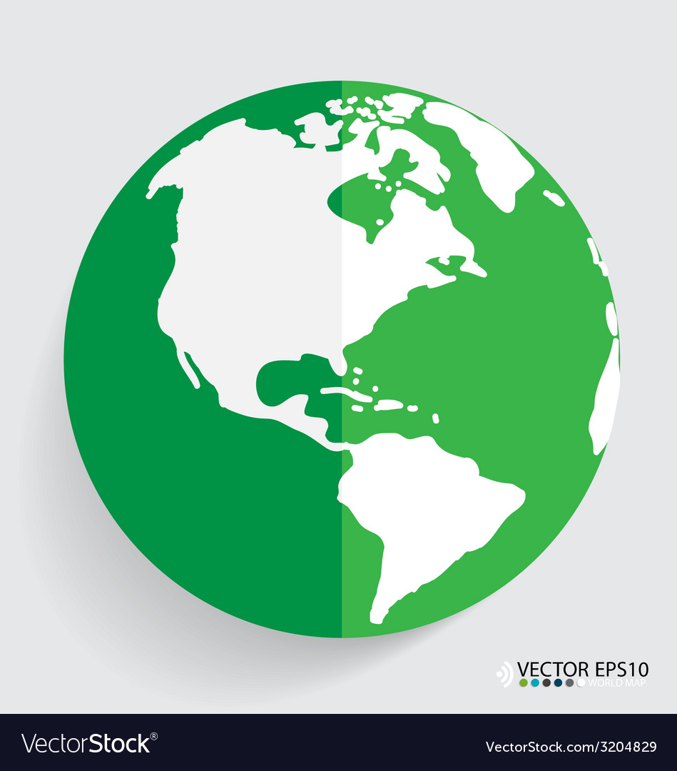 Modern globe design vector | Price: 1 Credit (USD $1)
