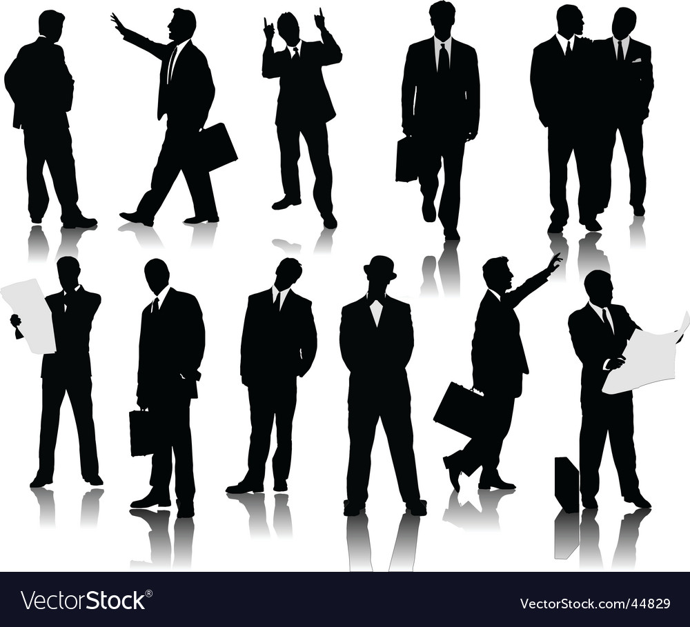 Office men vector | Price: 1 Credit (USD $1)