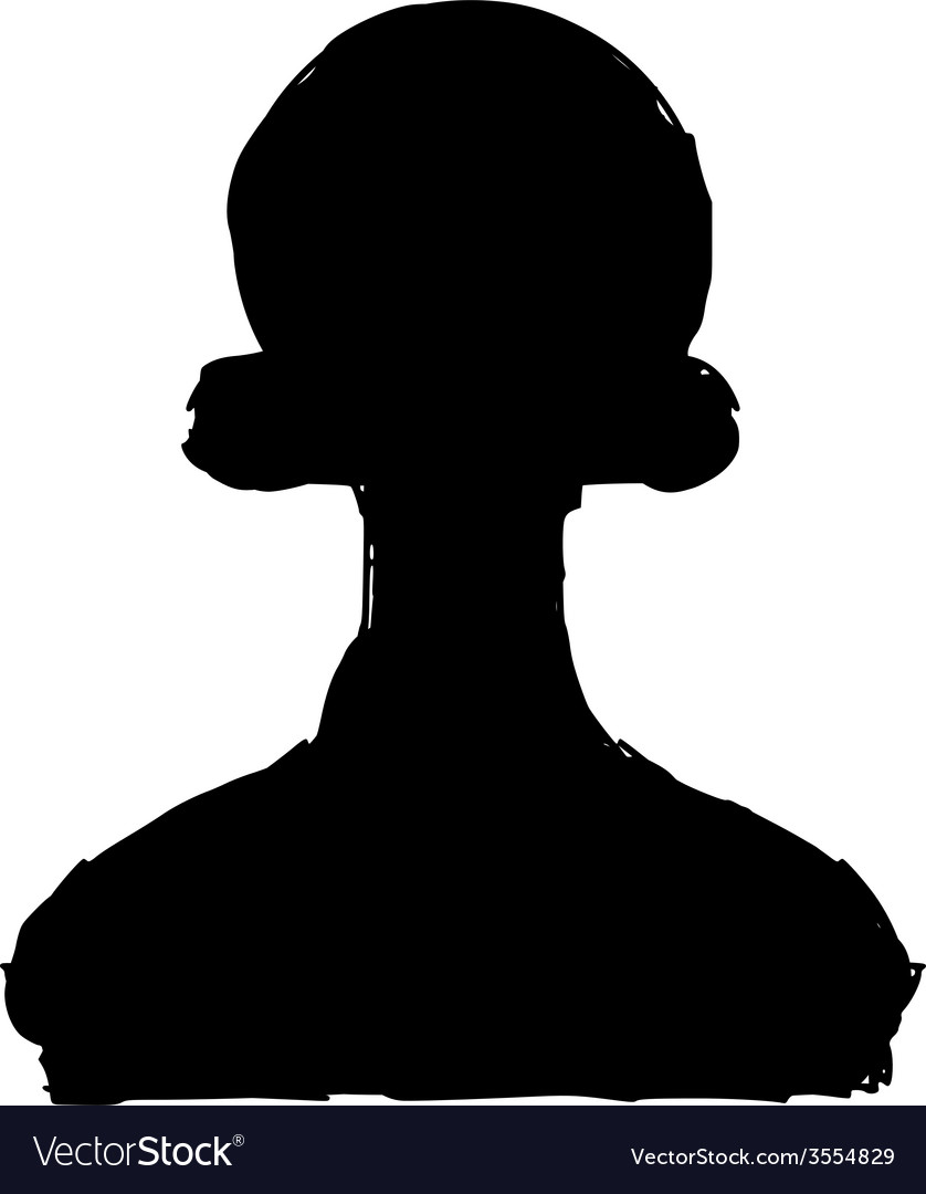 Silhouette of pawn vector | Price: 1 Credit (USD $1)