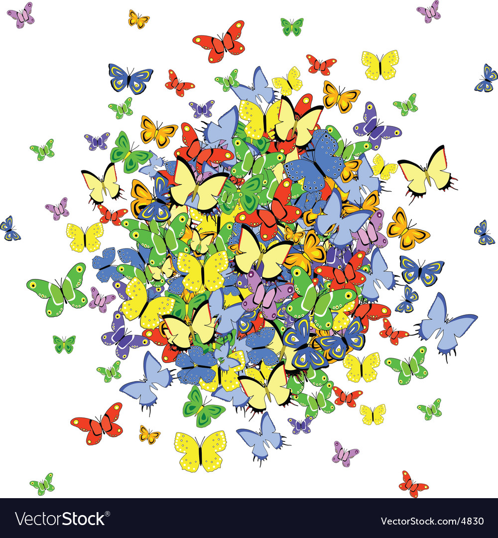 Butterfly ball vector | Price: 3 Credit (USD $3)