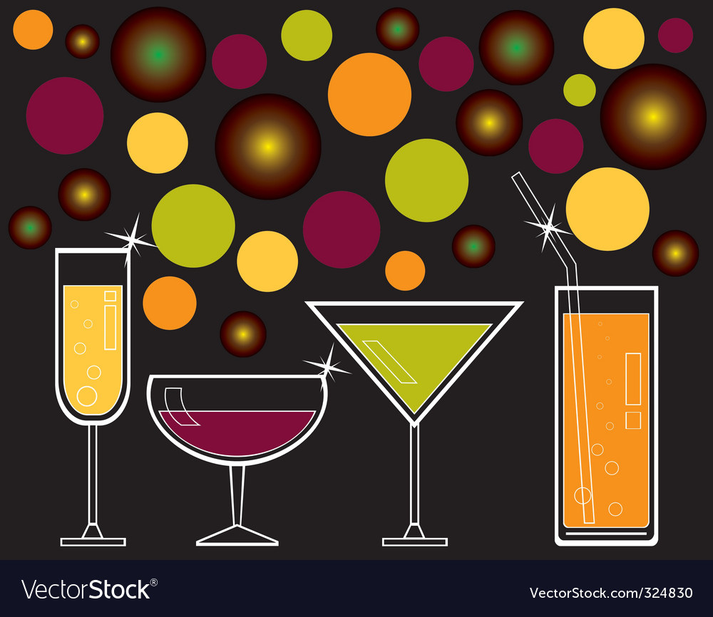 Drinks and juice vector | Price: 1 Credit (USD $1)
