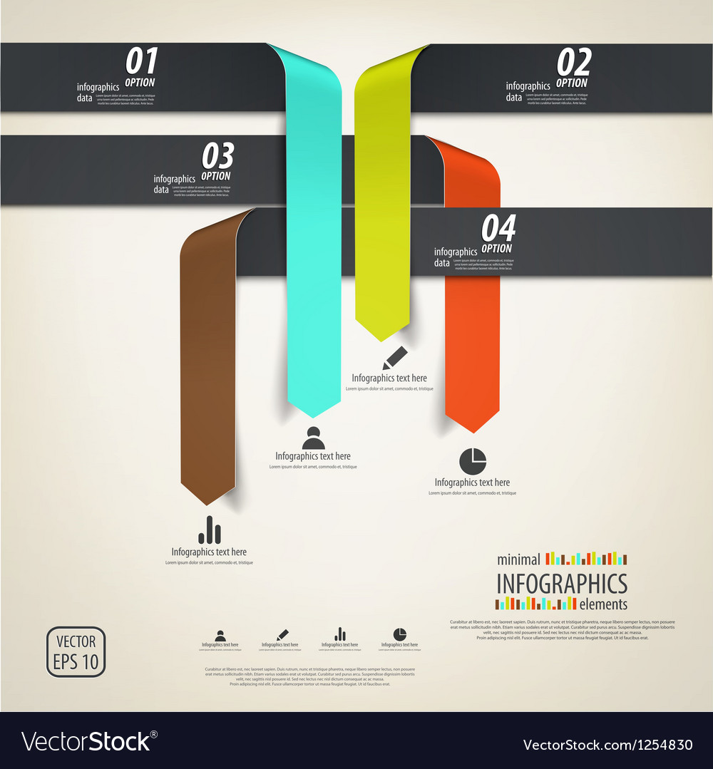 Minimal infographics design elements vector   Price: 1 Credit (USD $1)