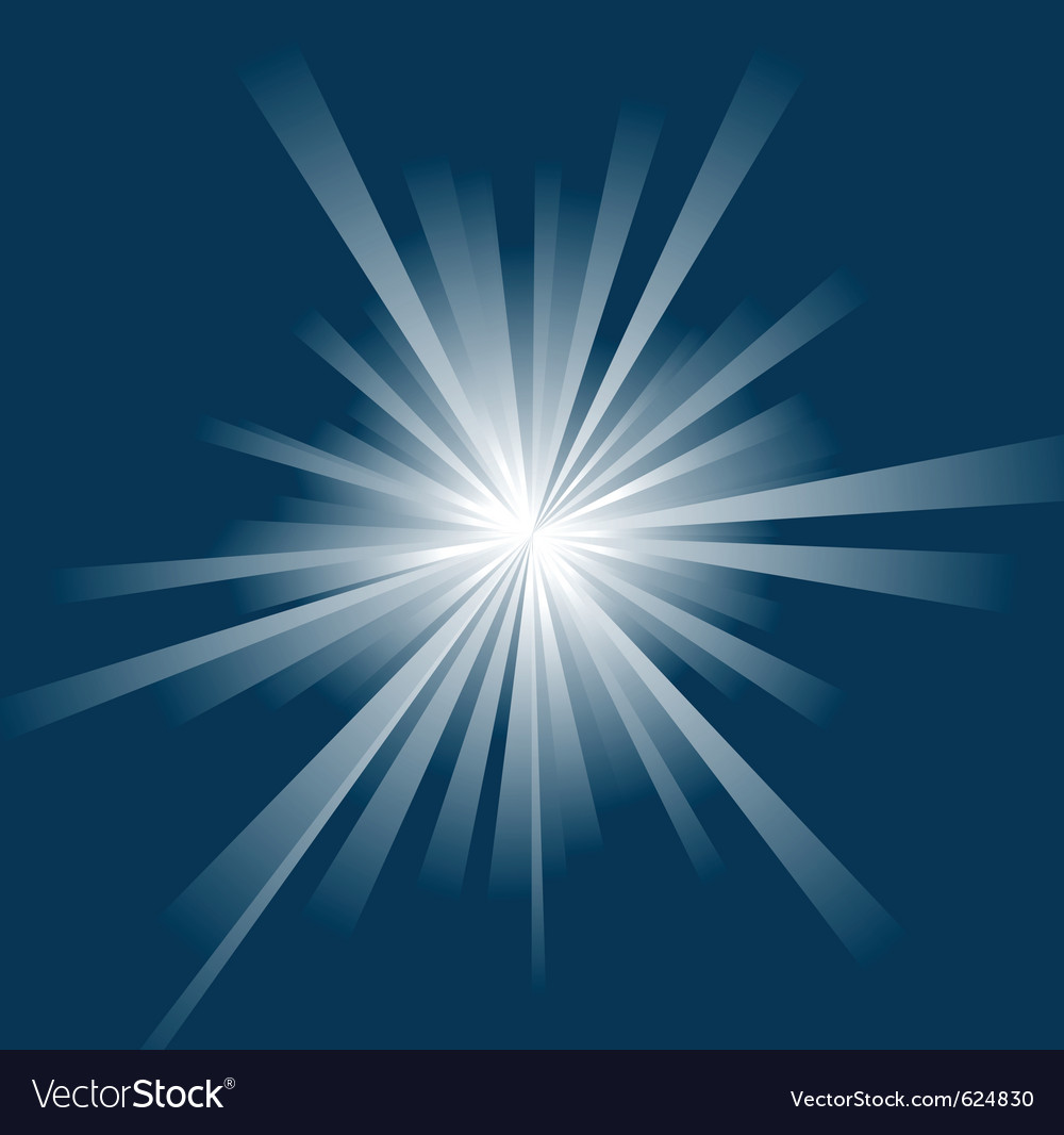 Sun ray background vector | Price: 1 Credit (USD $1)