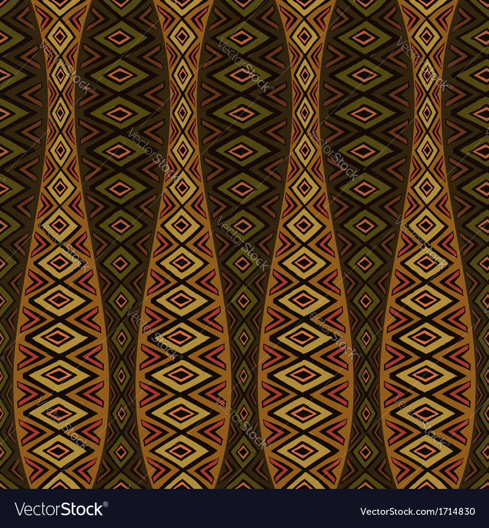 Vintage hand-drawn seamles pattern vector | Price: 1 Credit (USD $1)