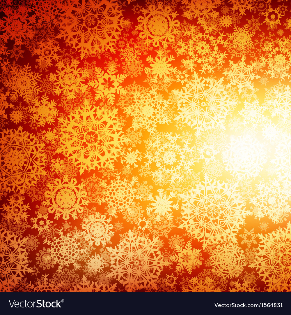 Seamless deep orange christmas eps 10 vector | Price: 1 Credit (USD $1)