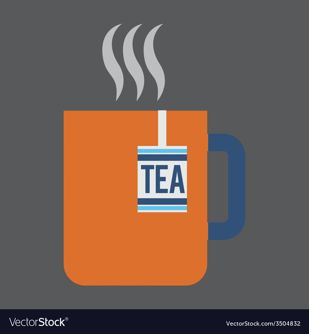 Tea design vector | Price: 1 Credit (USD $1)