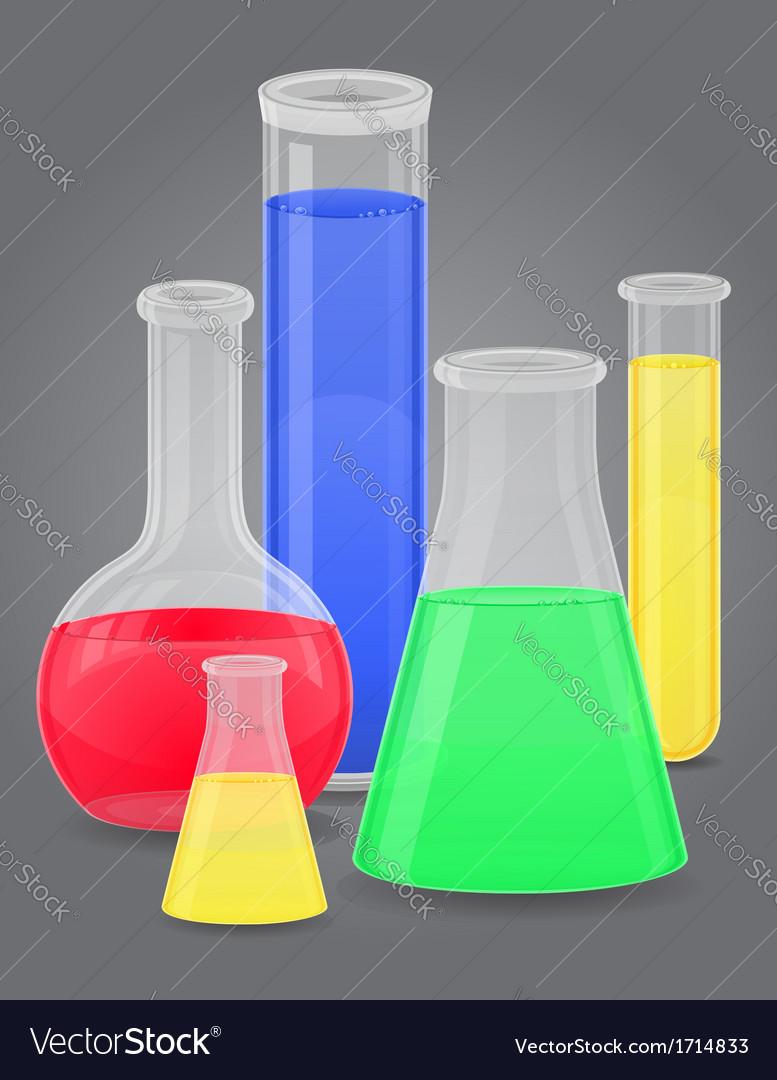 Glass tube 10 vector | Price: 1 Credit (USD $1)