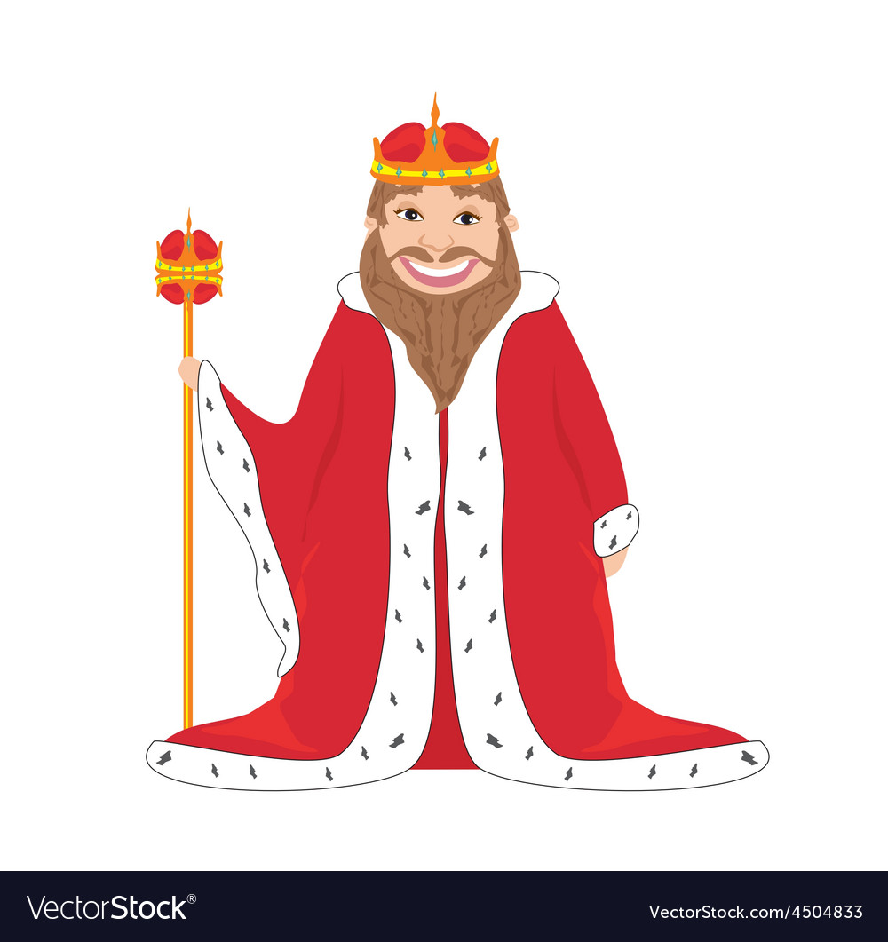 King - isolated drawing vector   Price: 1 Credit (USD $1)