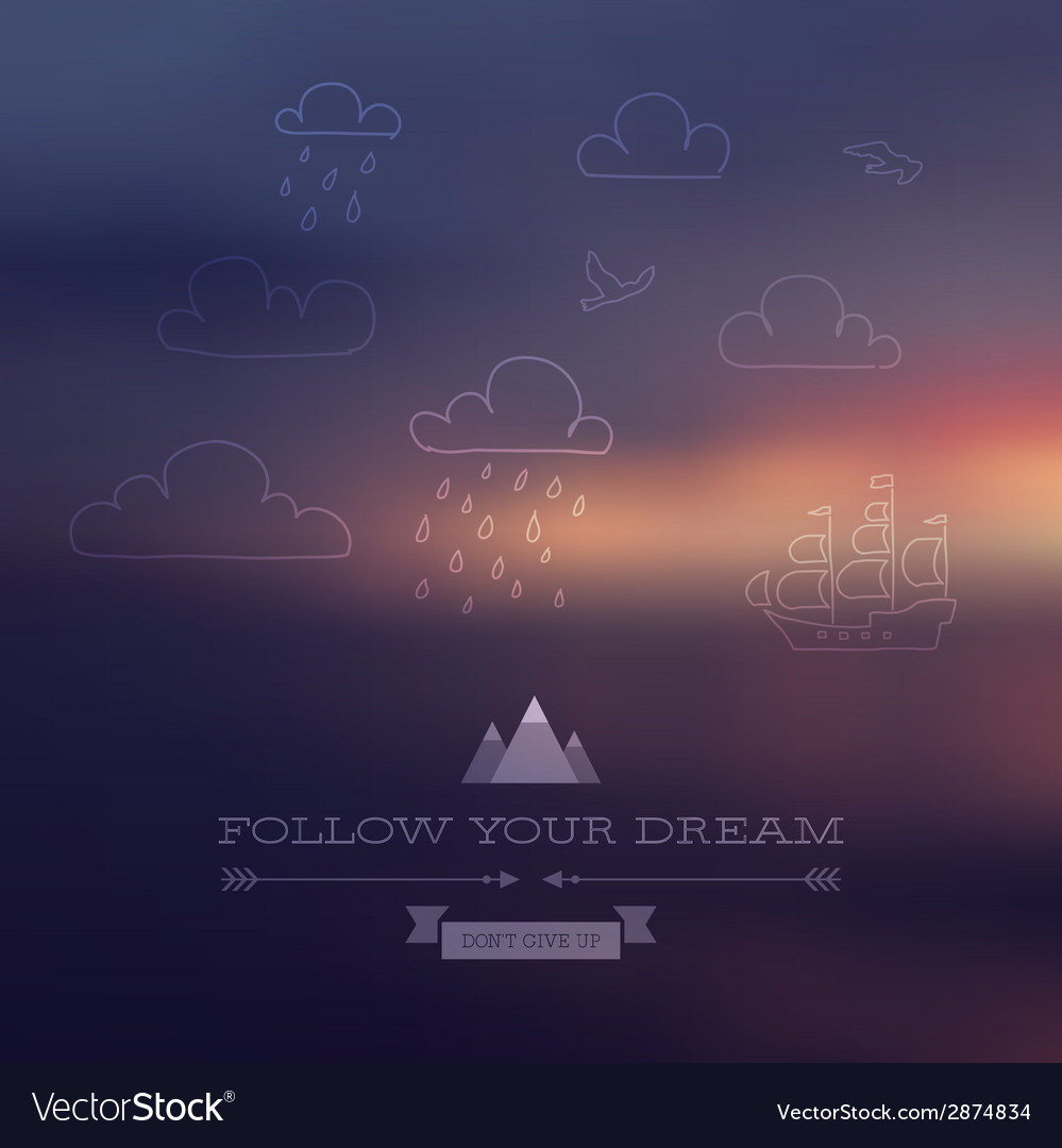 Dream vector | Price: 1 Credit (USD $1)