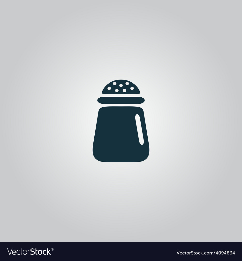 Salt or pepper - icon isolated vector | Price: 1 Credit (USD $1)