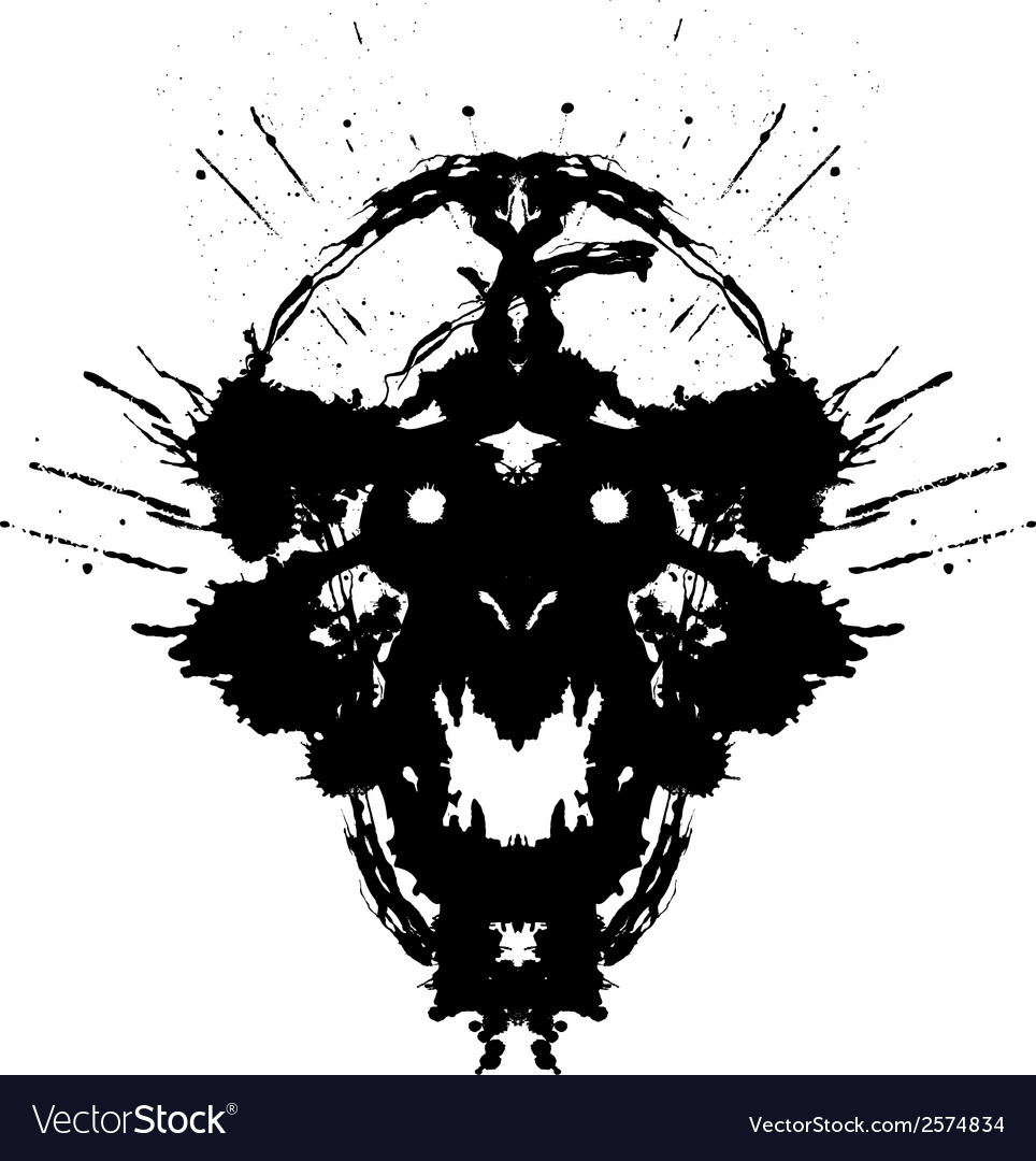 Scary demon vector | Price: 1 Credit (USD $1)