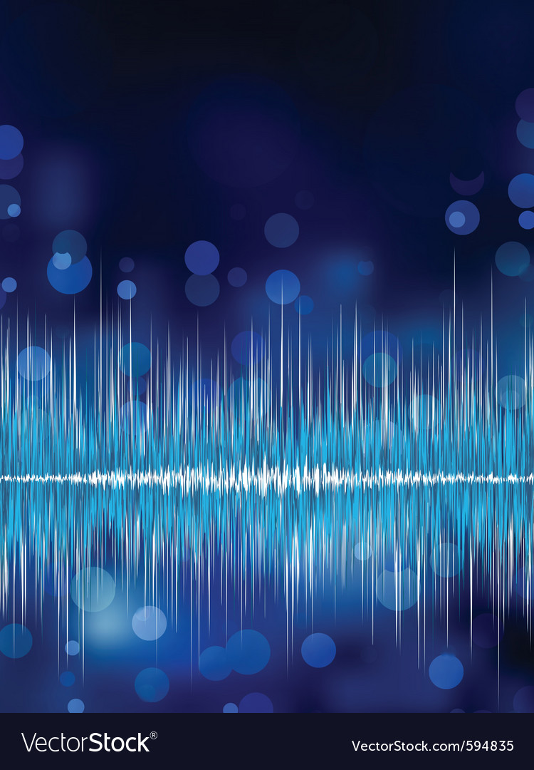 Abstract waveform background eps 8 vector | Price: 1 Credit (USD $1)