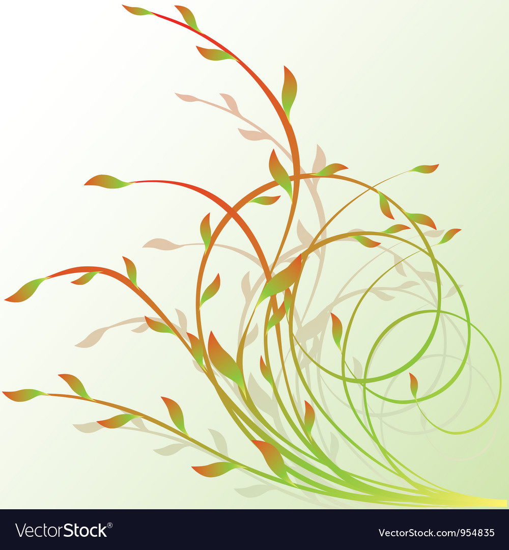 Design floral element vector | Price: 1 Credit (USD $1)