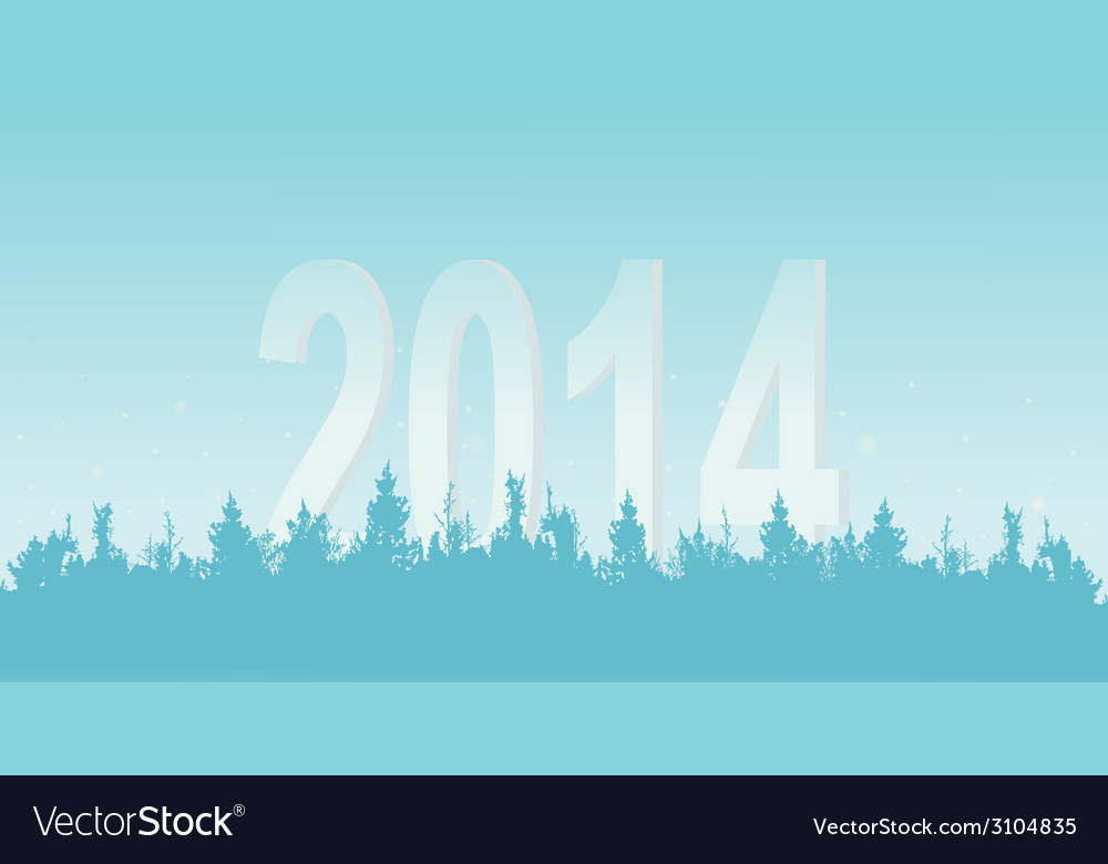 New years wood on a light background vector | Price: 1 Credit (USD $1)