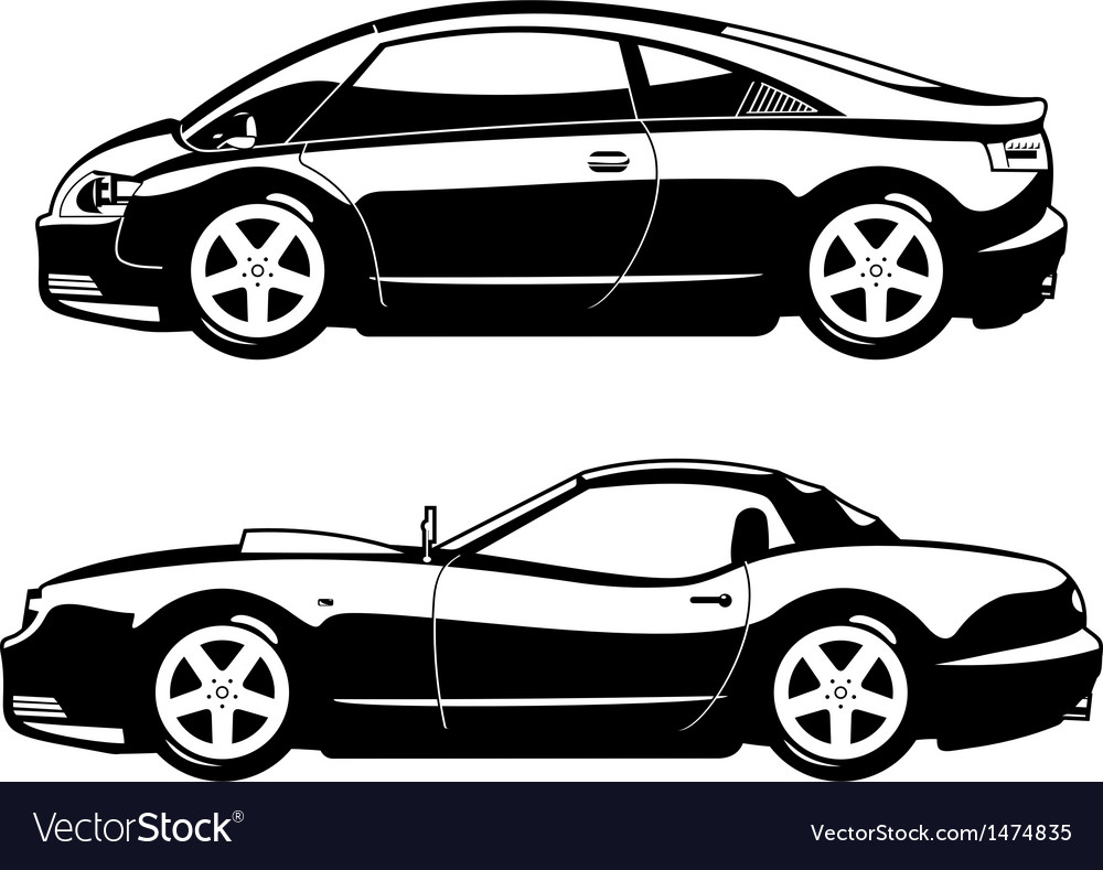 Sports cars vector | Price: 1 Credit (USD $1)