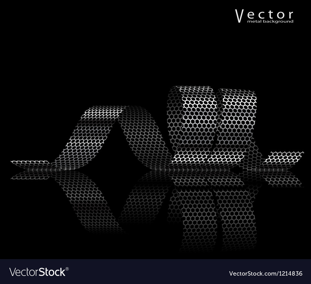 Metall ribbon vector | Price: 1 Credit (USD $1)