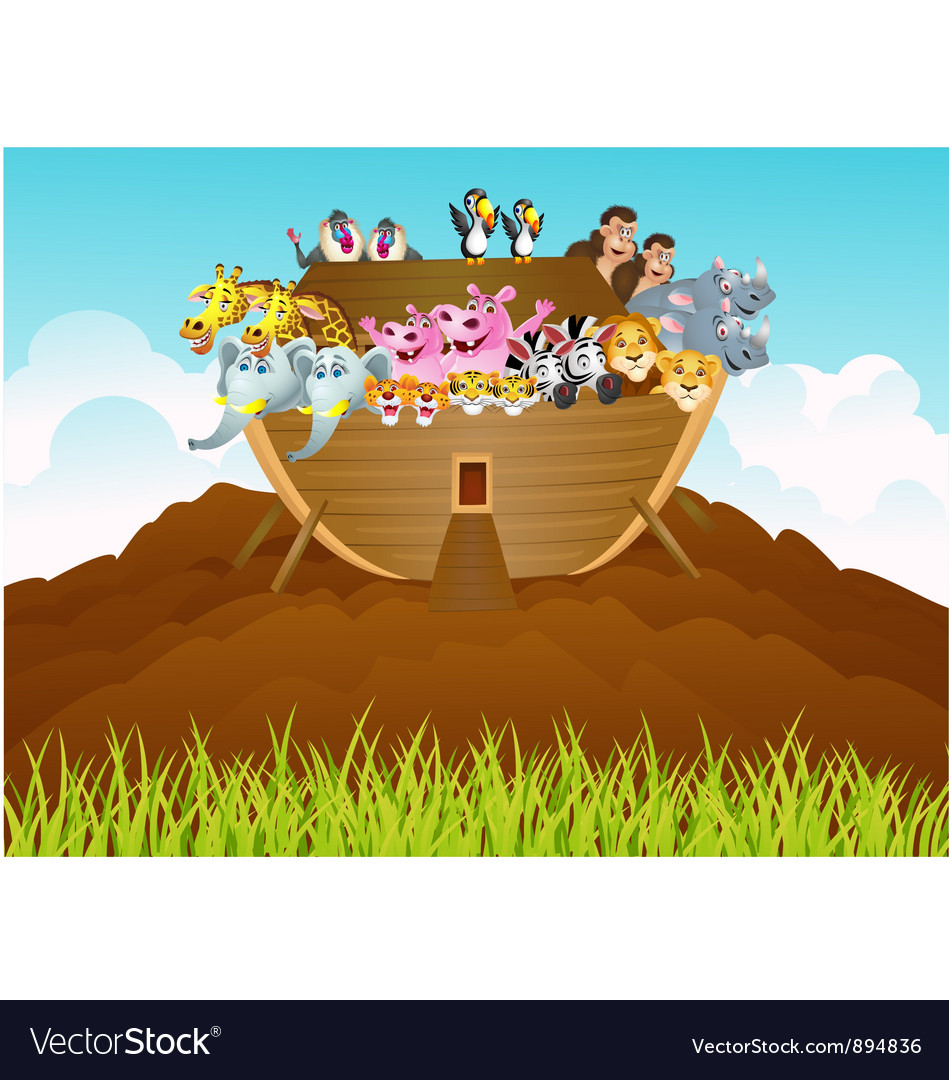 Noah ark vector | Price: 3 Credit (USD $3)
