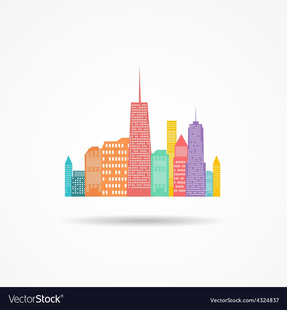 City icon vector   Price: 1 Credit (USD $1)