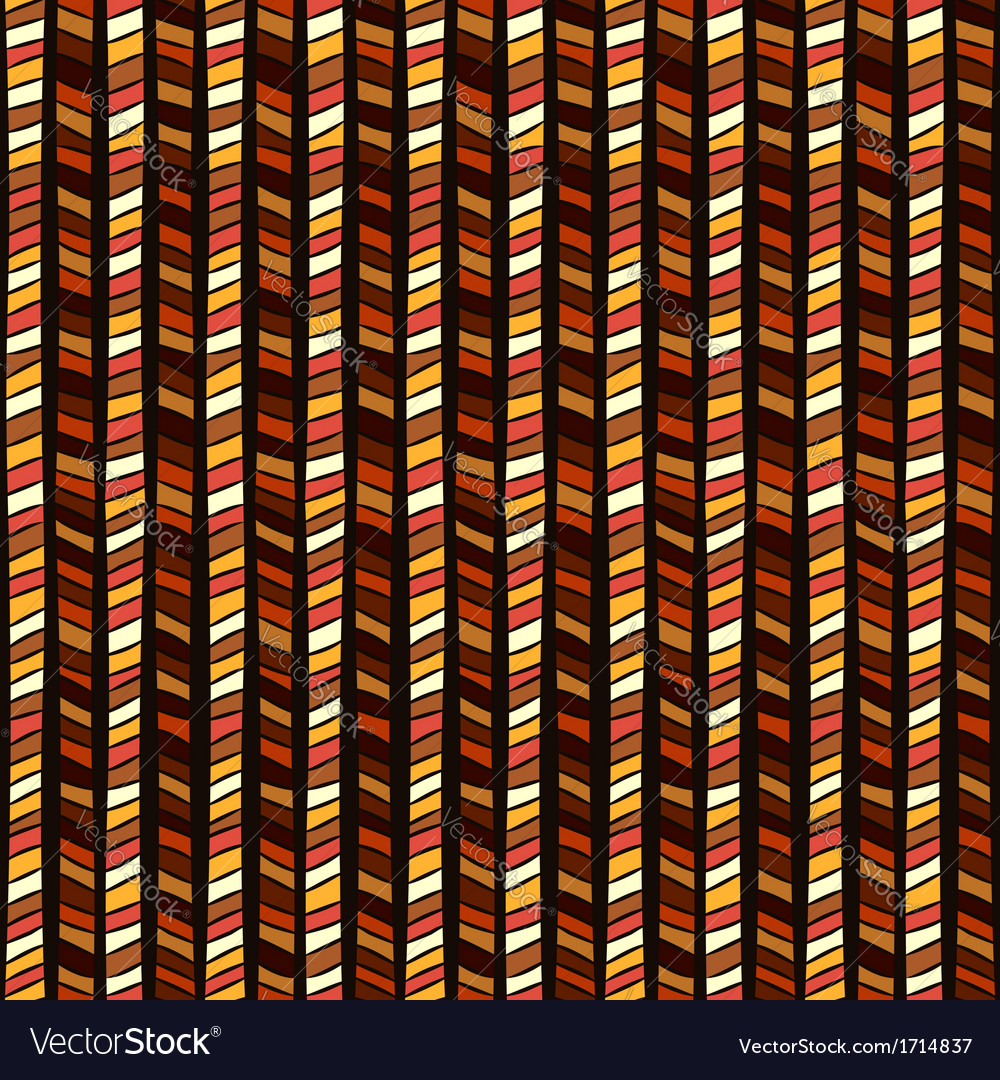 Ethnic geometric seamless pattern vector | Price: 1 Credit (USD $1)