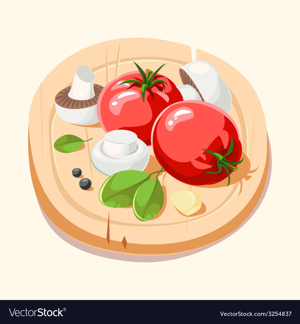 Ingredients italian cuisine vector | Price: 1 Credit (USD $1)